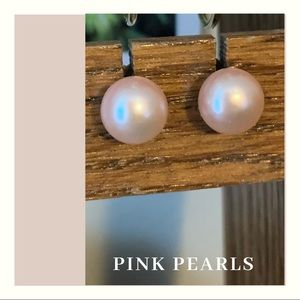 Fresh water light pink pearls